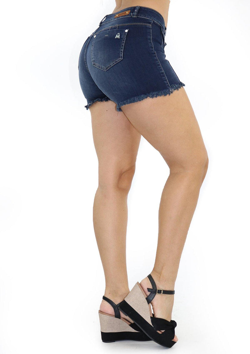 19601 Denim Short by Maripily Rivera