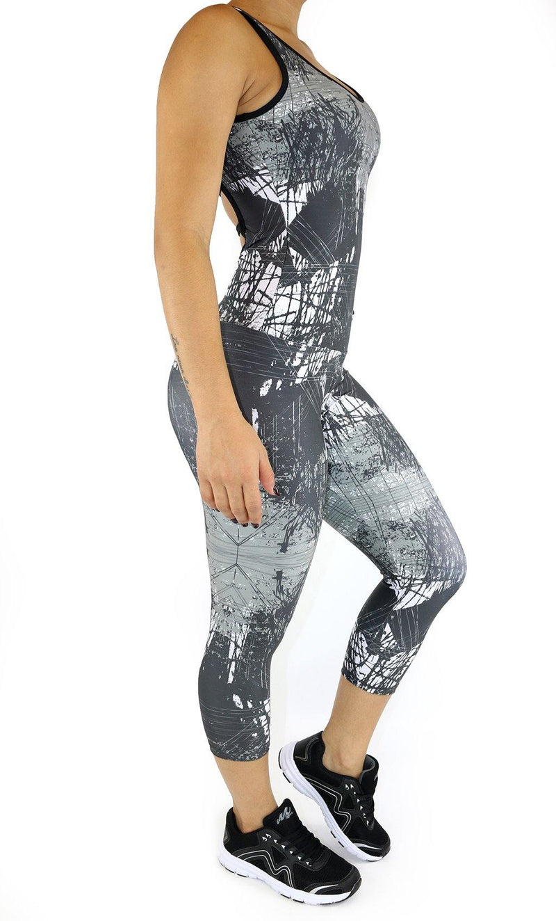 5009 Maripily Women Activewear Bodysuit