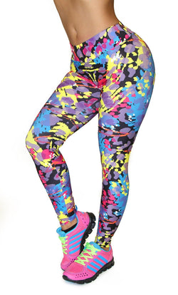 1034 Maripily Activewear Print Leggings