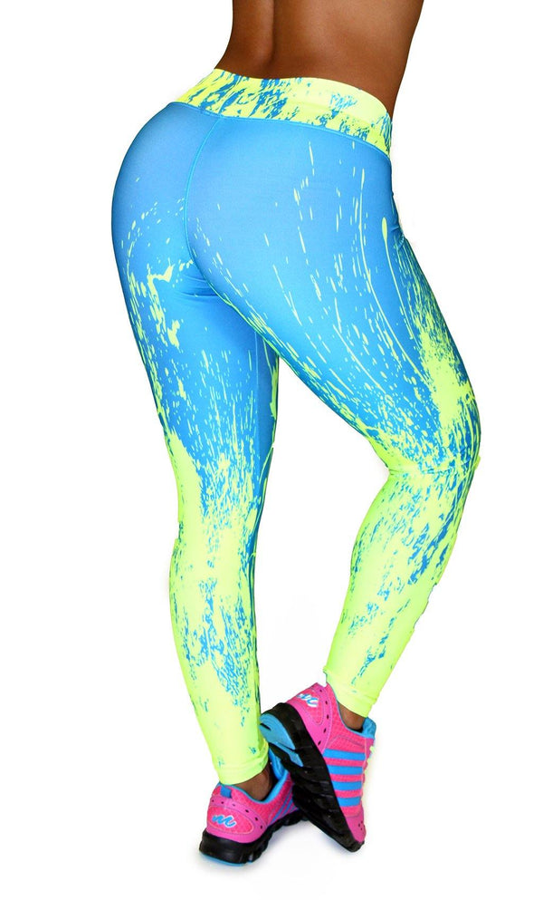 1036 Maripily Activewear Print Leggings