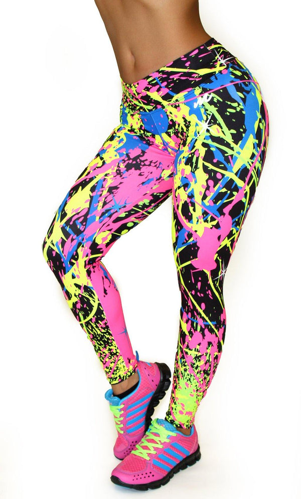 1040 Maripily Activewear Print Leggings