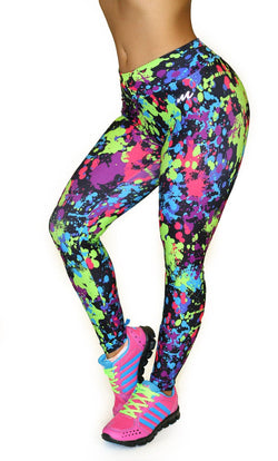 1047 Maripily Activewear Print Leggings