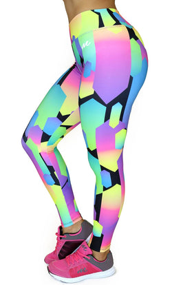 1059 Maripily Activewear Print Leggings