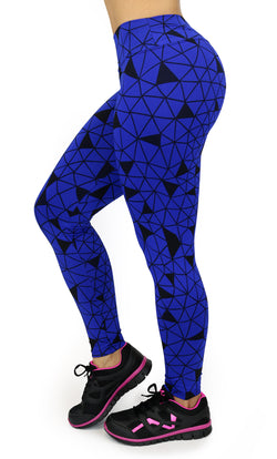 1077 Maripily Activewear Print Leggings