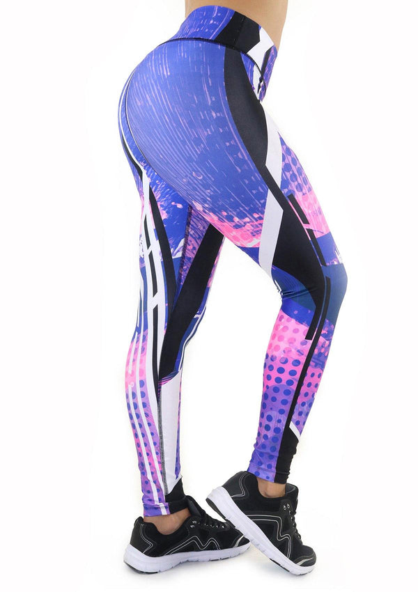 7119 Activewear Print Legging for woman by Maripily Rivera