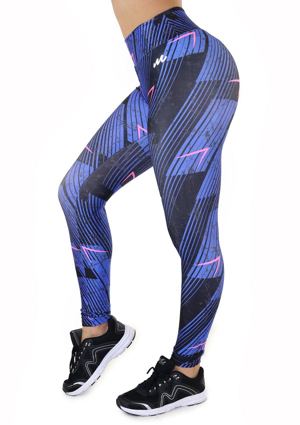 7130 Activewear Print Legging for woman by Maripily Rivera