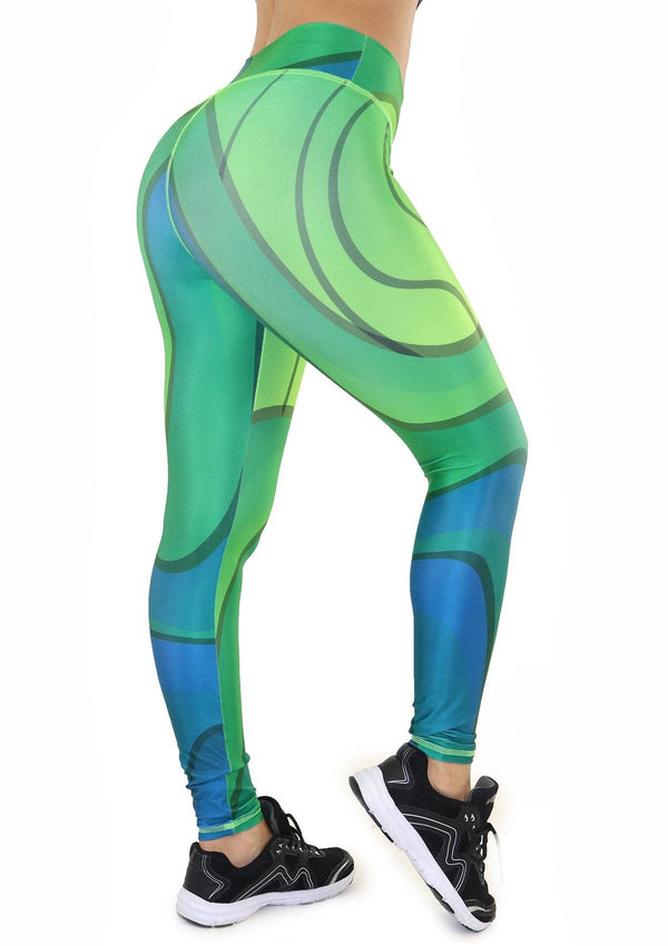 7132 Activewear Print Legging for woman by Maripily Rivera