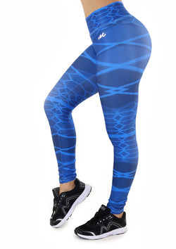 7133 Activewear Print Legging for woman by Maripily Rivera