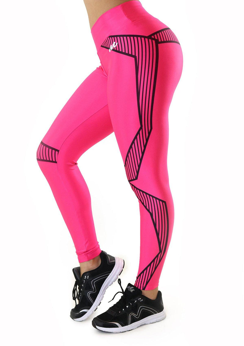7134 Activewear Print Legging for woman by Maripily Rivera