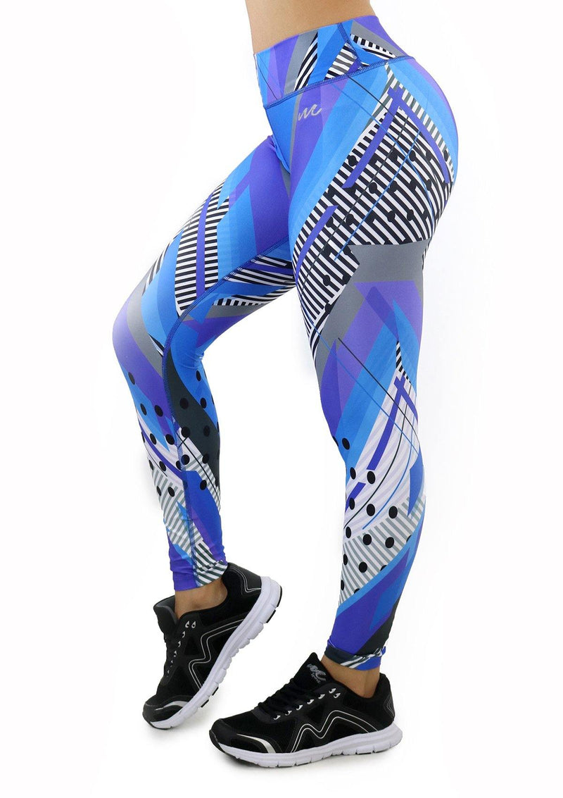 9056 Activewear Print Legging for woman by Maripily Rivera - Pompis Stores
