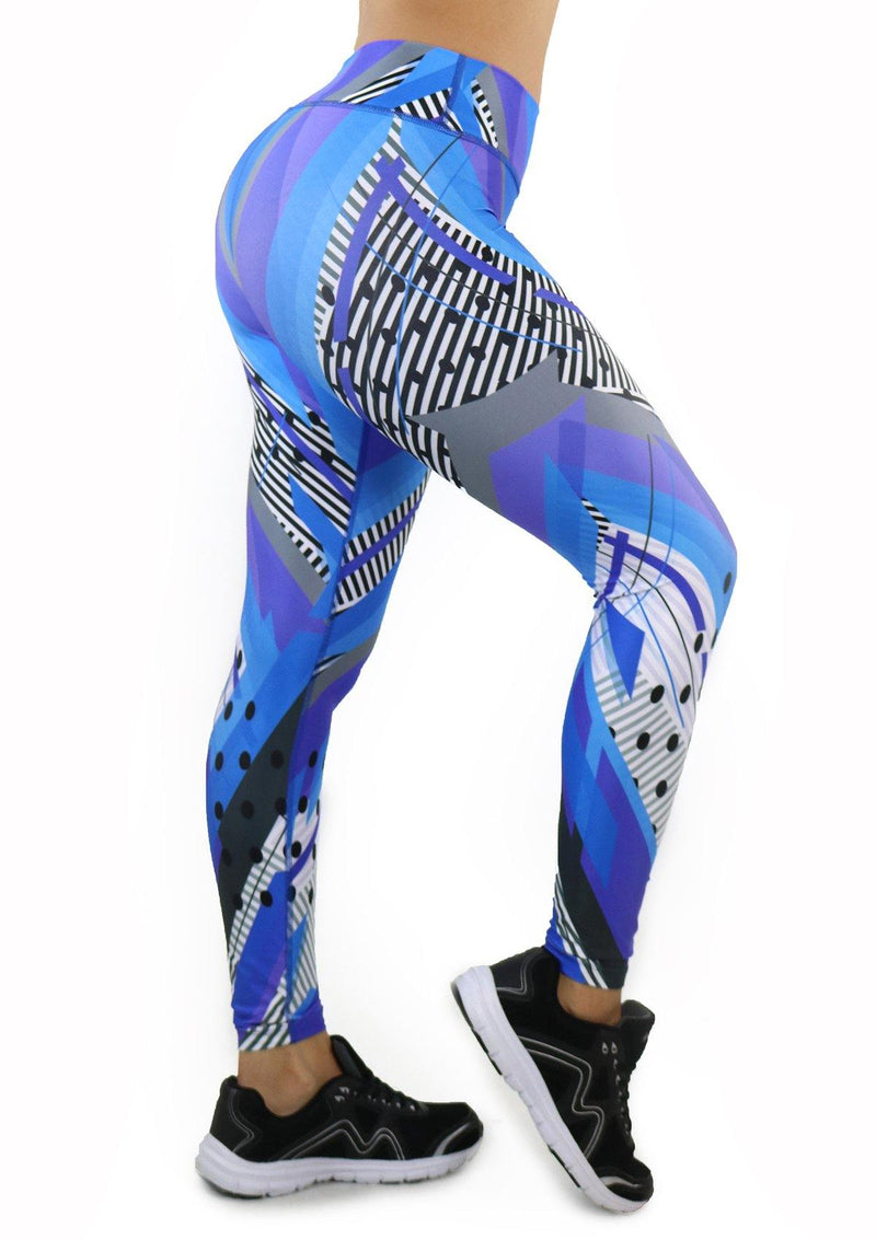 9056 Activewear Print Legging for woman by Maripily Rivera