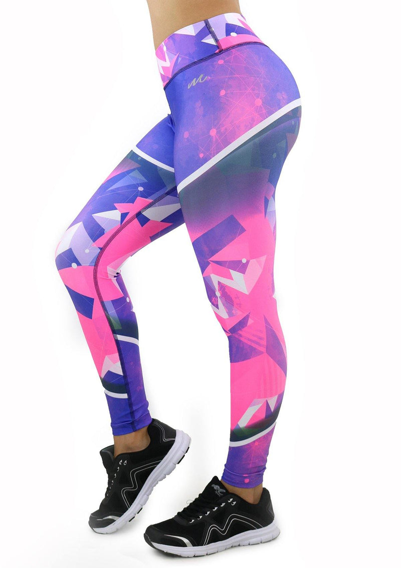 9058 Activewear Print Legging for woman by Maripily Rivera