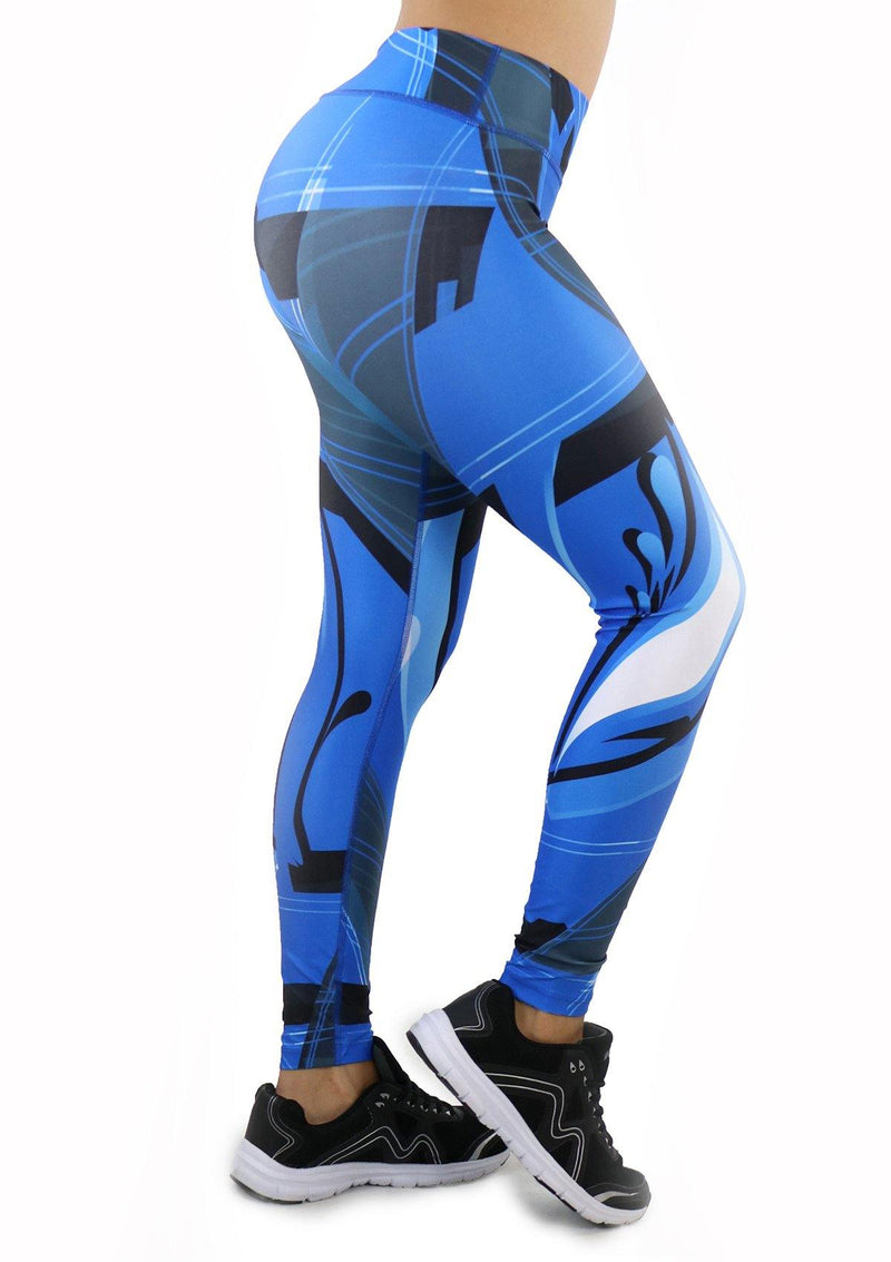 9059 Activewear Print Legging for woman by Maripily Rivera