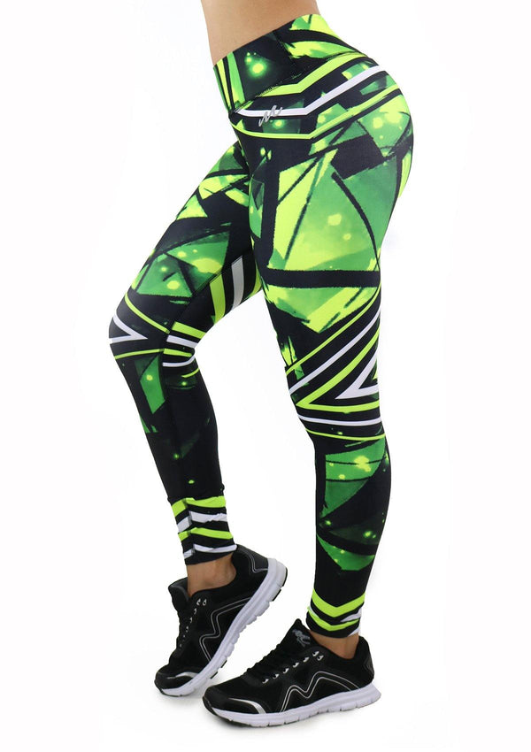 9060 Activewear Print Legging for woman by Maripily Rivera