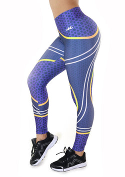 9066 Activewear Print Legging for woman by Maripily Rivera - Pompis Stores