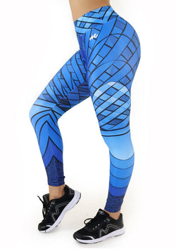 9073 Activewear Print Legging for woman by Maripily Rivera