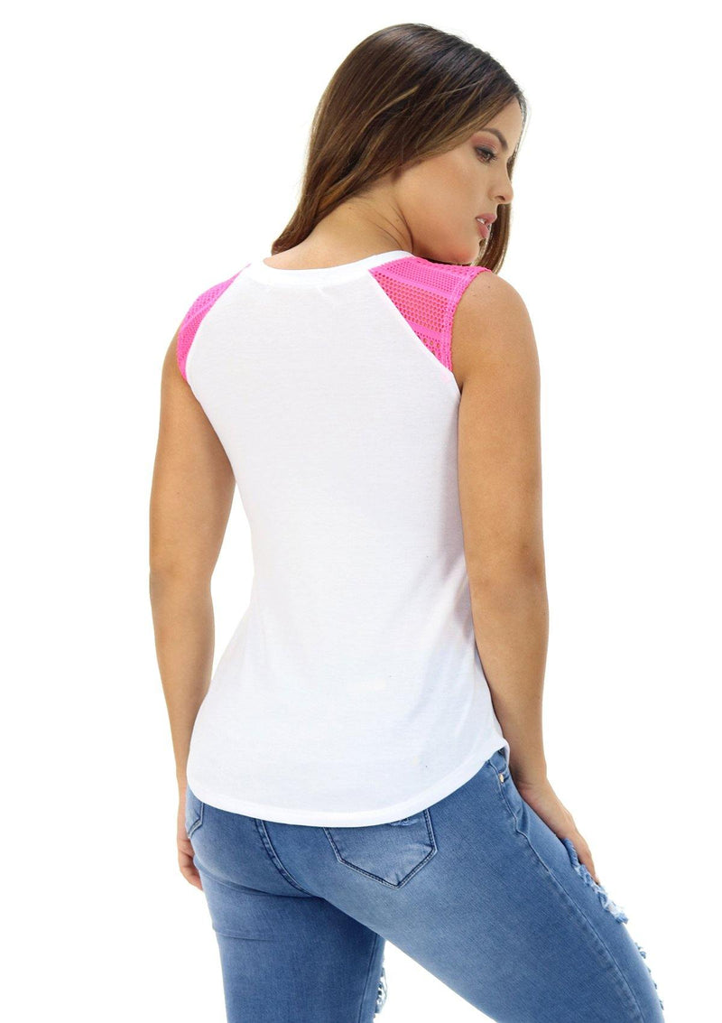 NYT292N Blusa de Mujer by Scarcha