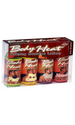 PP973504 Body Heat Warming Massage Lotion Sampler