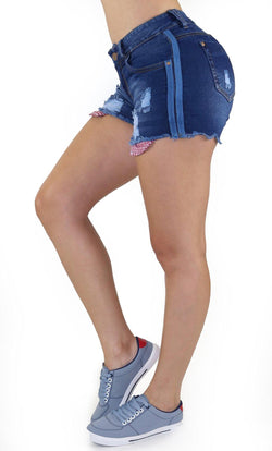 1096 Scarcha Women Short Denim