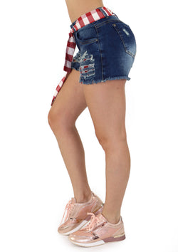 1200 Scarcha Women Short Denim