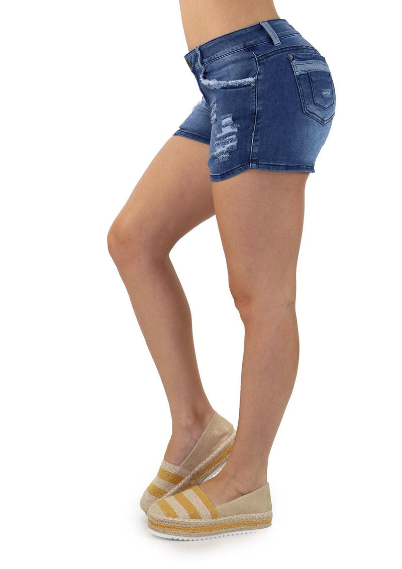 1203 Scarcha Women Short Denim