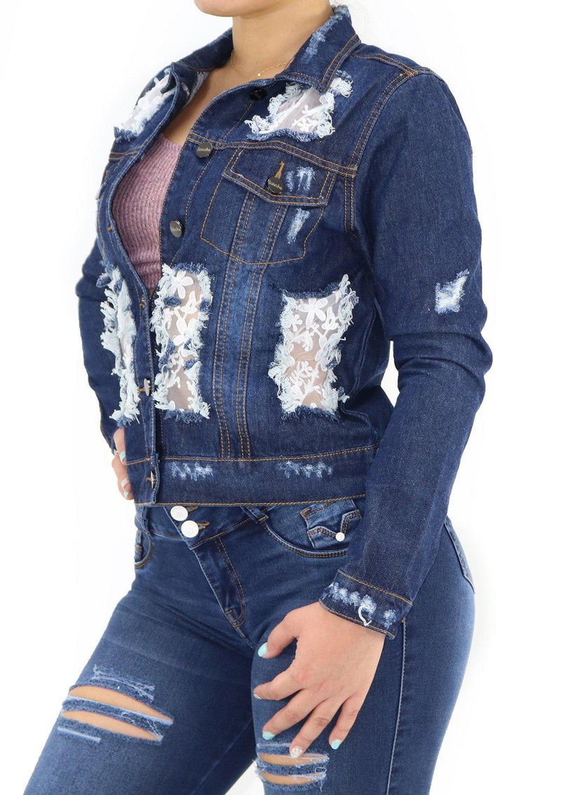 1269N Denim Jacket by Scarcha