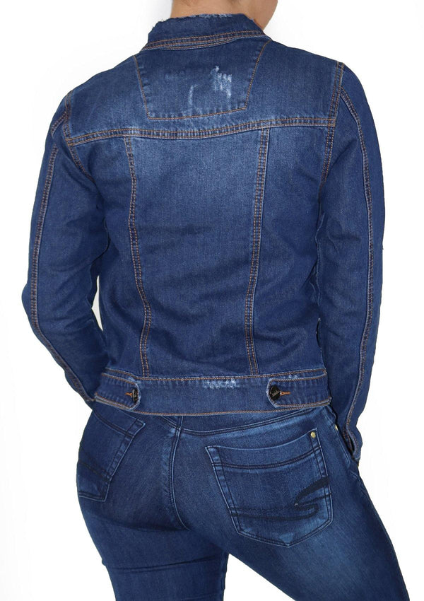 1269 Denim Jacket by Scarcha