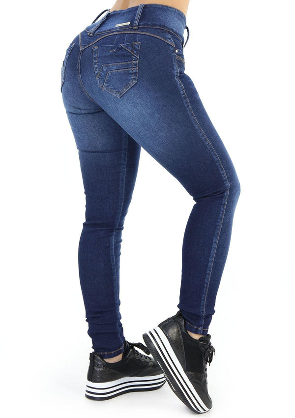 1412 Scarcha Women Skinny Jean - Pompis Stores