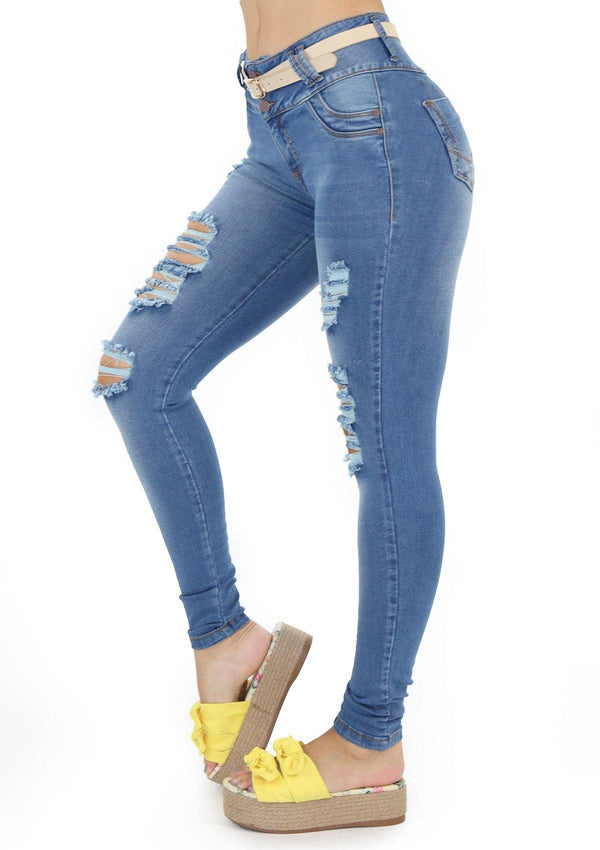 1417 Scarcha Women Skinny Jean - Pompis Stores