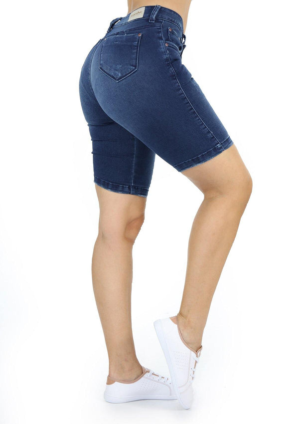 1469 Scarcha Women Bermuda Short Jean - Pompis Stores
