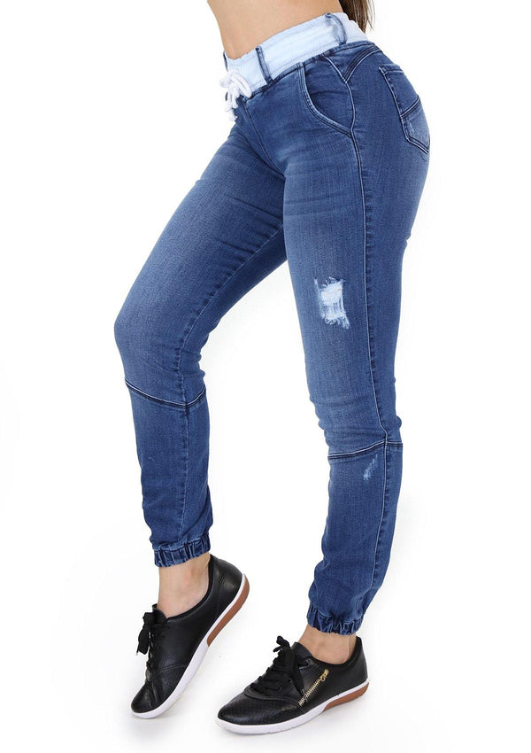 1531 Scarcha Women Jeans Jogger - Pompis Stores