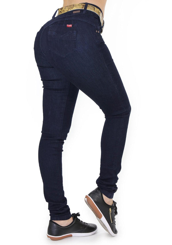 1534 Scarcha Women Skinny Jean (Long) - Pompis Stores