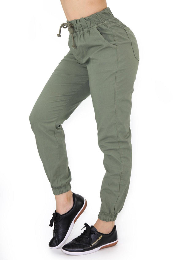 1553 Olive Scarcha Women Jogger - Pompis Stores