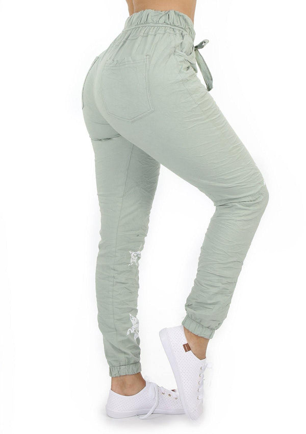 1559 Light Green Scarcha Women Jogger - Pompis Stores