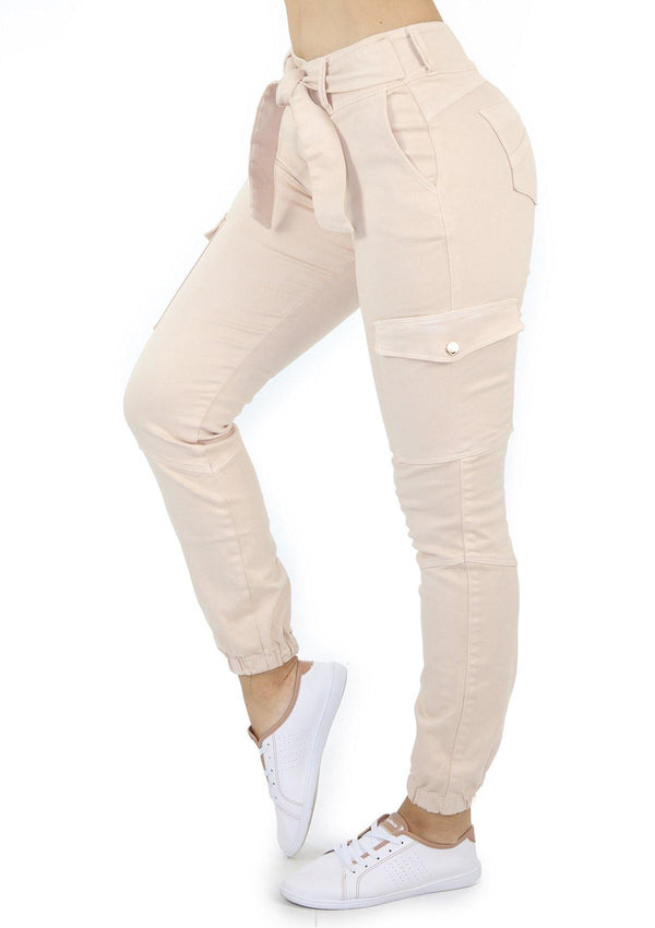 1587 Scarcha Women Cargo/Jogger Jean - Pompis Stores