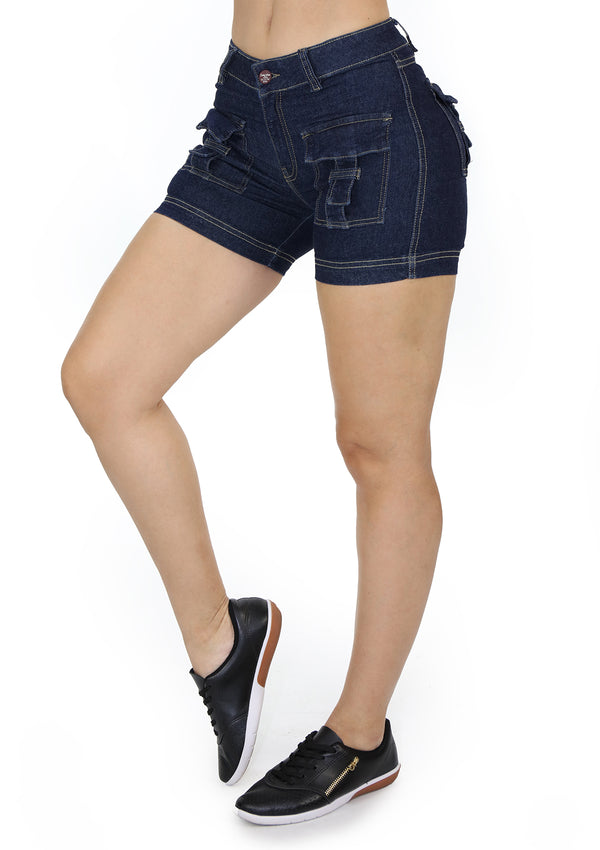 1631 Pockets Short Jean by Scarcha
