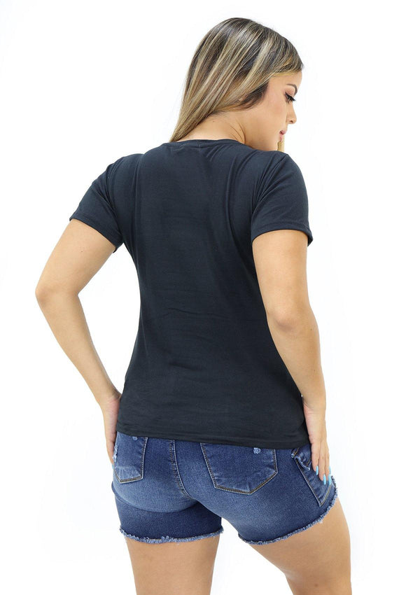 SC5227 Black Blusa de Mujer by Scarcha - Pompis Stores