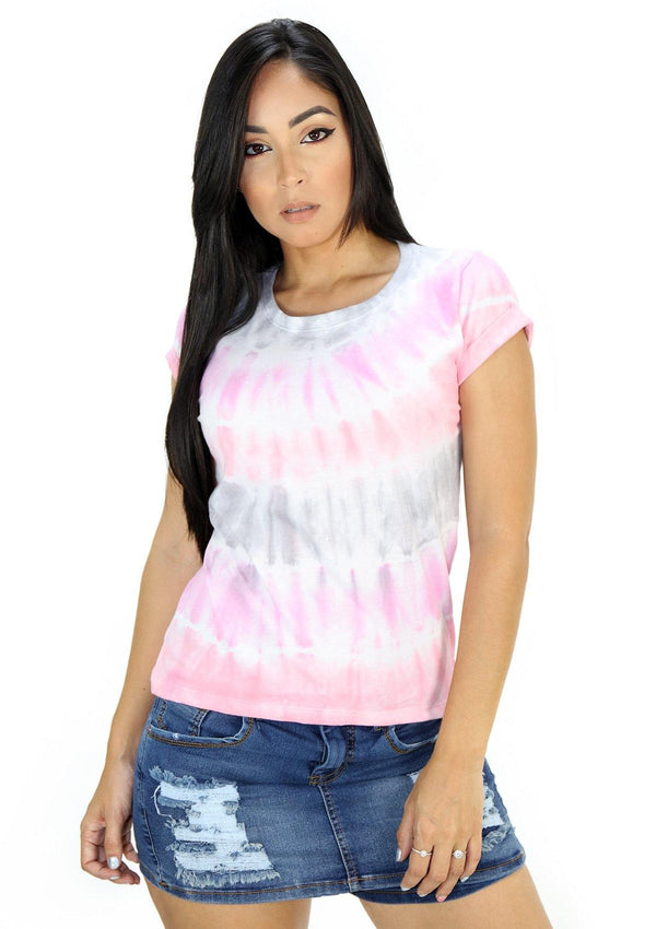 SC5242 Tie Dye Blusa de Mujer by Scarcha - Pompis Stores