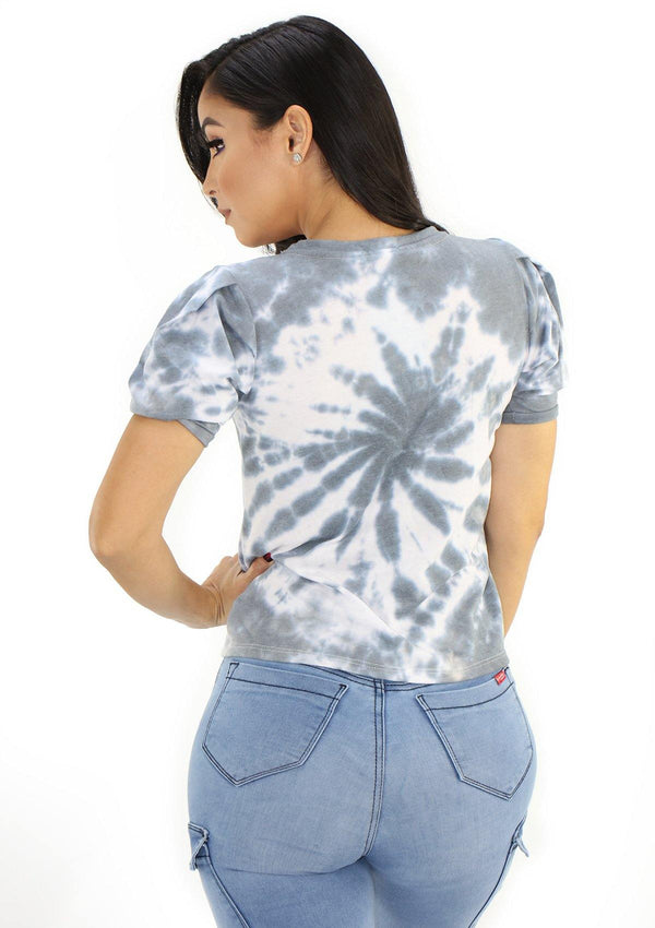 SC5243 Tie Dye Blusa de Mujer by Scarcha - Pompis Stores