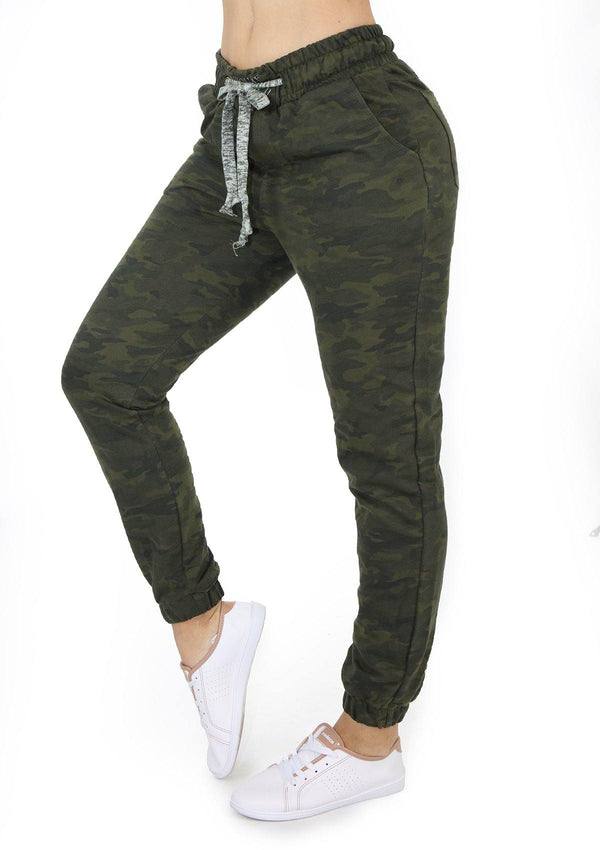 5259 Camuflaje Scarcha Women Jogger - Pompis Stores