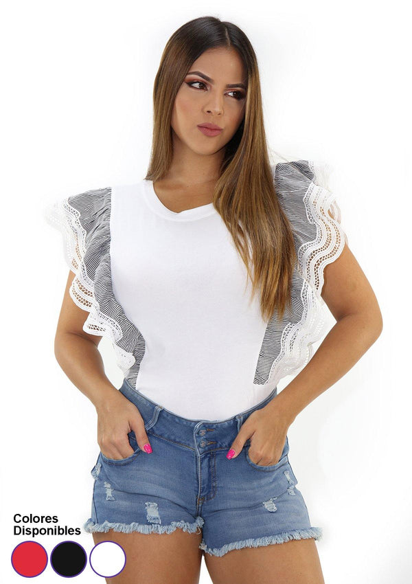 SCINX167 Blusa de Mujer by Scarcha - Pompis Stores