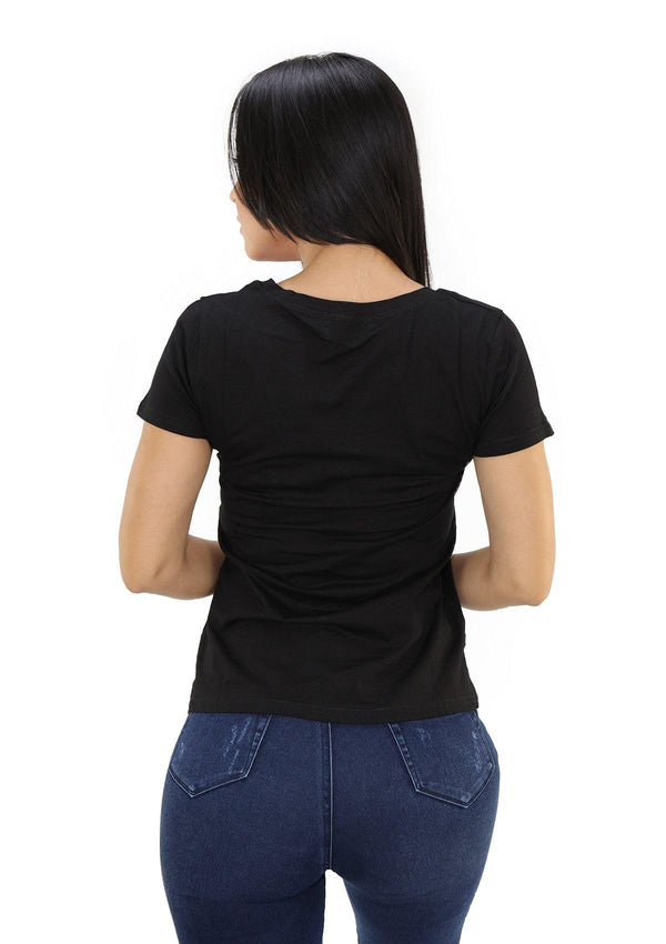 SCLD1751 Black AMOUR Blusa de Mujer by Scarcha - Pompis Stores