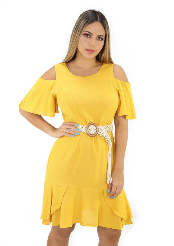 SCLU56002D Yellow Traje de Mujer by Scarcha - Pompis Stores