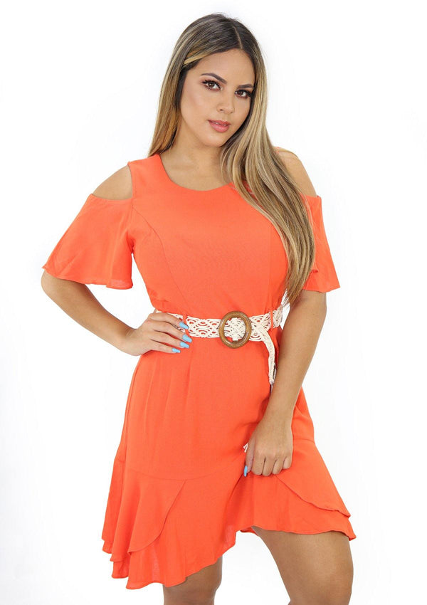 SCLU56002D Orange Traje de Mujer by Scarcha - Pompis Stores
