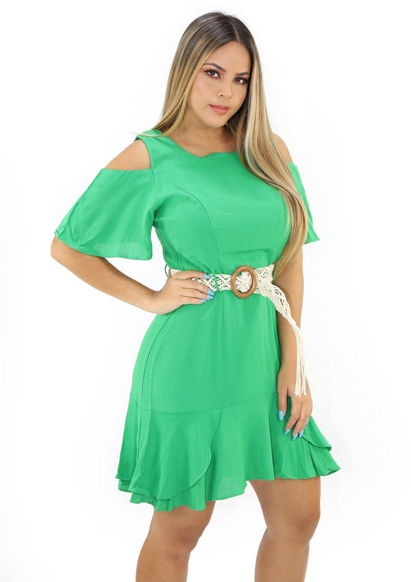SCLU56002D Green Traje de Mujer by Scarcha - Pompis Stores