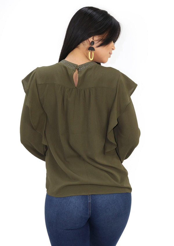 SCLV1360 Blusa de Mujer by Scarcha - Pompis Stores