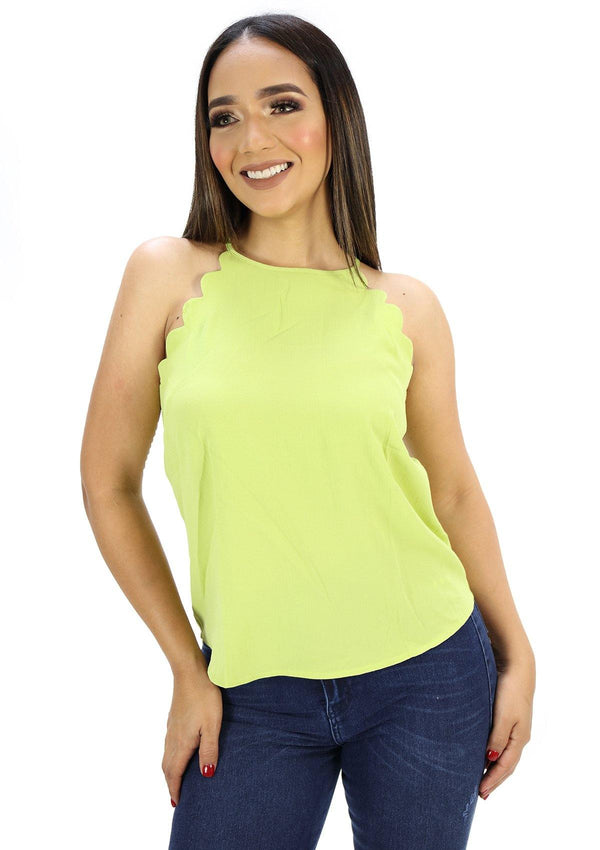 SCMISJ4159N Blusa de Mujer by Scarcha - Pompis Stores