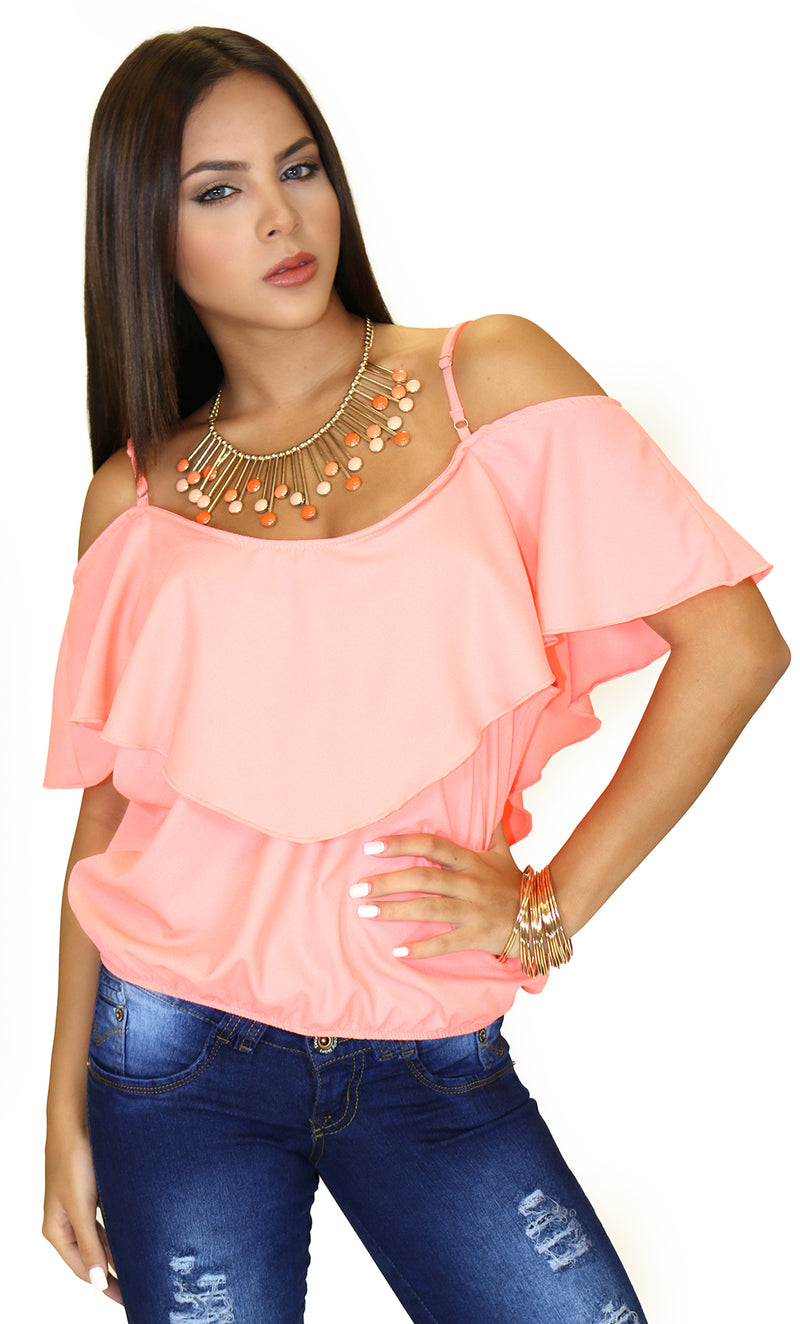 39841 Off-Shoulder Blouse Trendy by Keila Hernandez