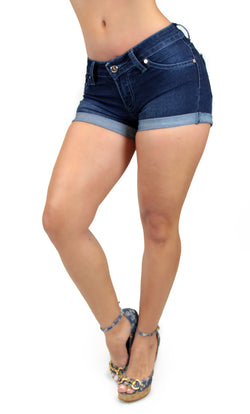 TDS1 Denim Short Trendy by Keila Hernandez