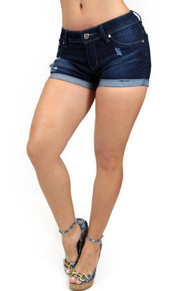 TDS2 Denim Short Trendy by Keila Hernandez